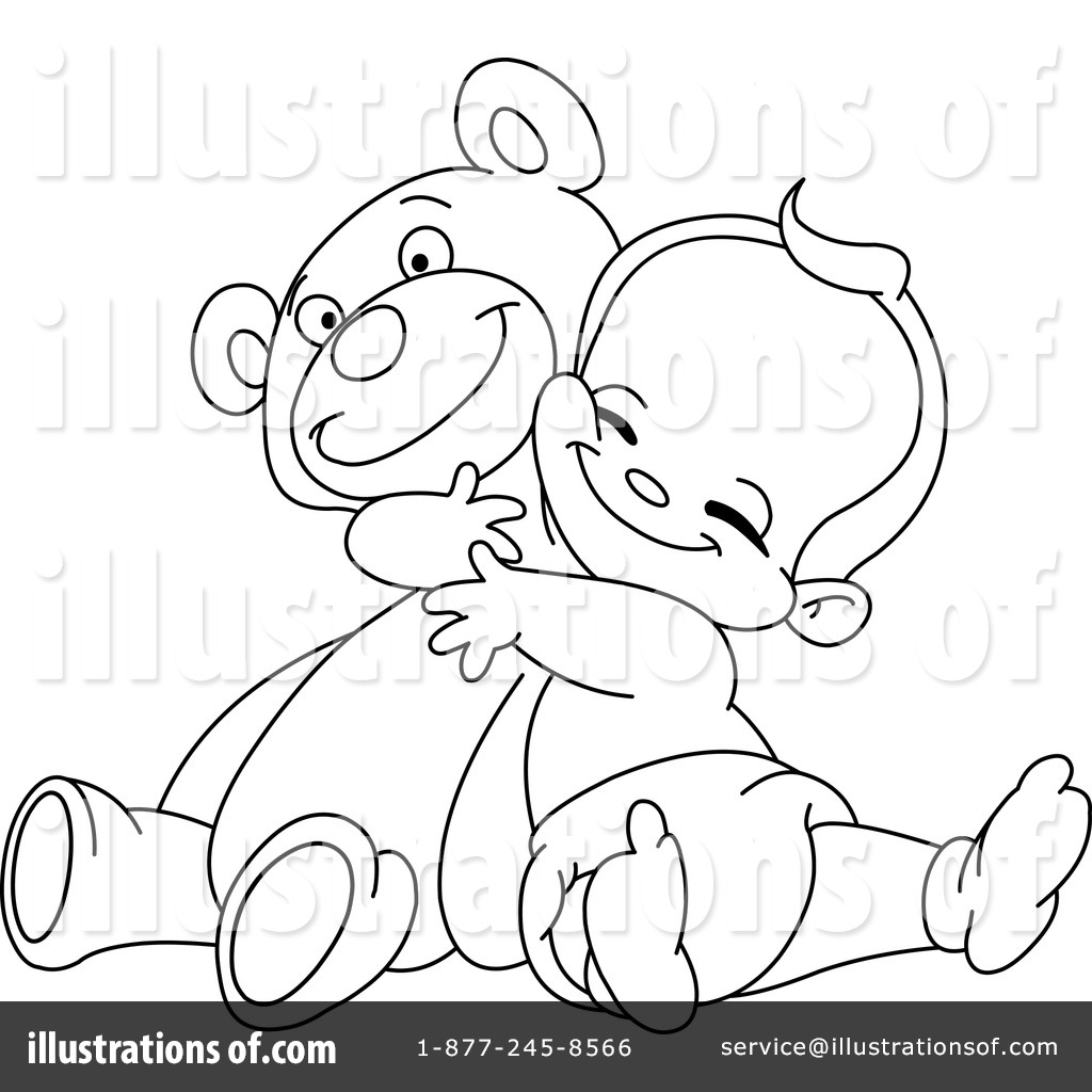 Bear Pencil Stock Vector Clipart A Happy Cartoon With Pictures