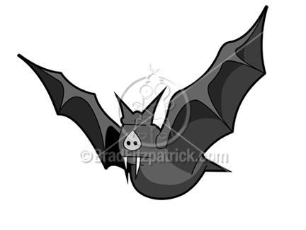 Cartoon Bat Clipart Character   Royalty Free Bat Picture Licensing