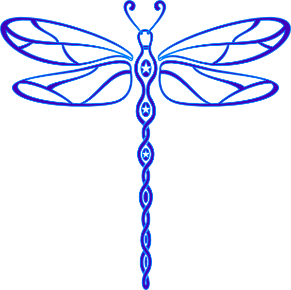 Dragonfly Outline Clipart   Clipart Panda   Free Clipart Images