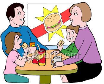 Restaurant Dining Clip Art