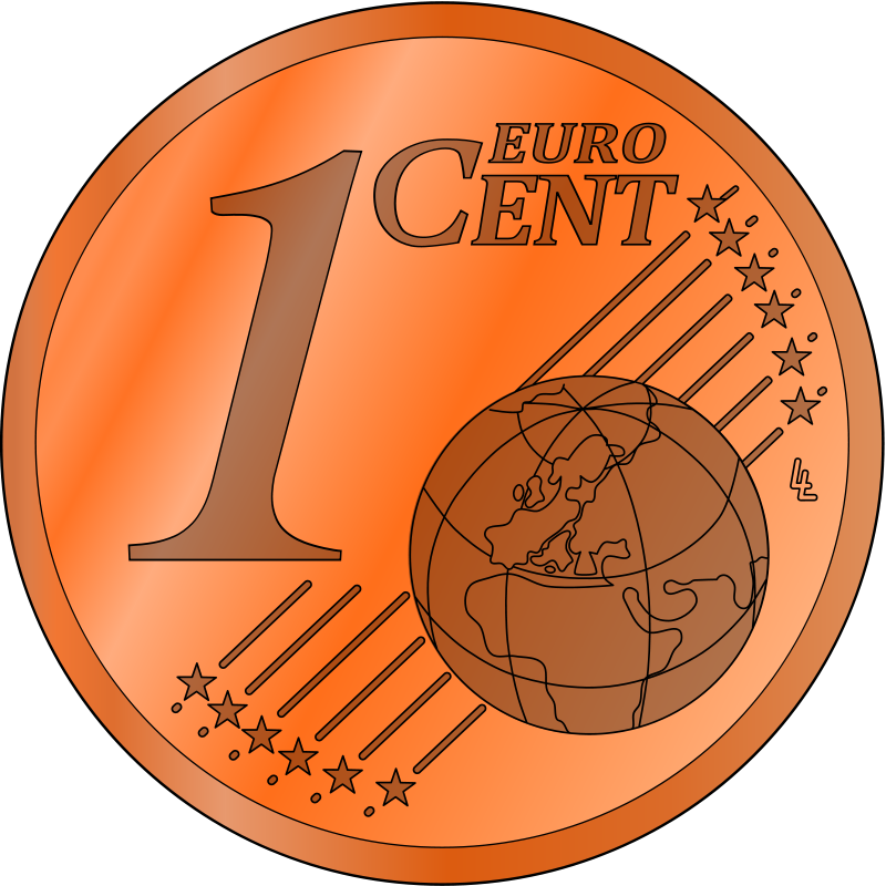 Cent Clipart - Clipart Kid