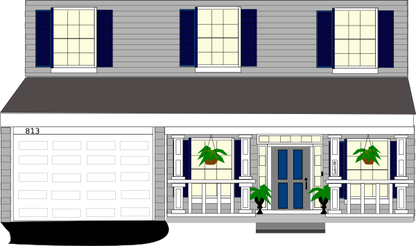 Front Porch Clipart Front Porch Windows With