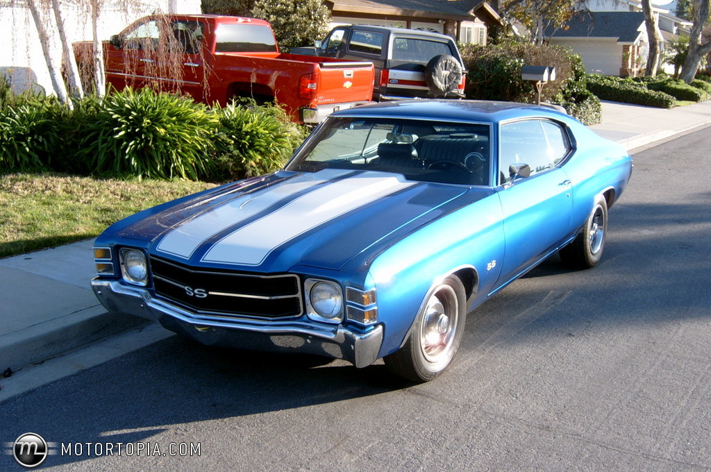Go Back   Gallery For   Blue 1971 Chevelle