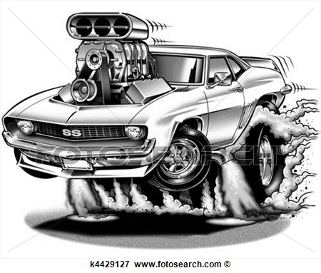 Illustration 69 Chevelle Fotosearch Search Vector Clipart Car Pictures