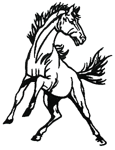 Mustang Clip Art Horse   Clipart Panda   Free Clipart Images