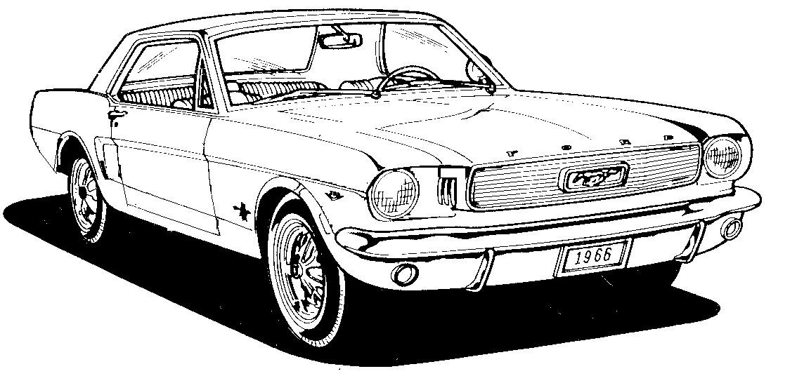 Mustang Clipart   The Mustang Source