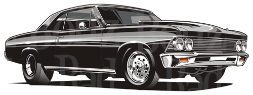 Pin Chevelle Drawing On Pinterest