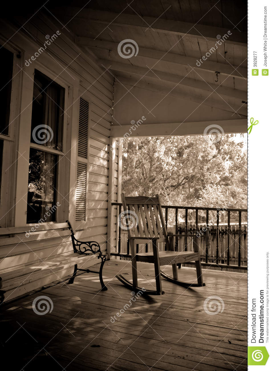 porch bench clipart