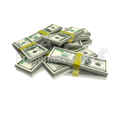 Stack Of Money   Business And Finance   Great Clipart For