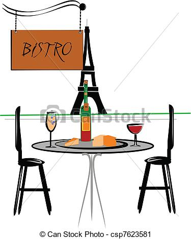 Vector   Bistro   Stock Illustration Royalty Free Illustrations