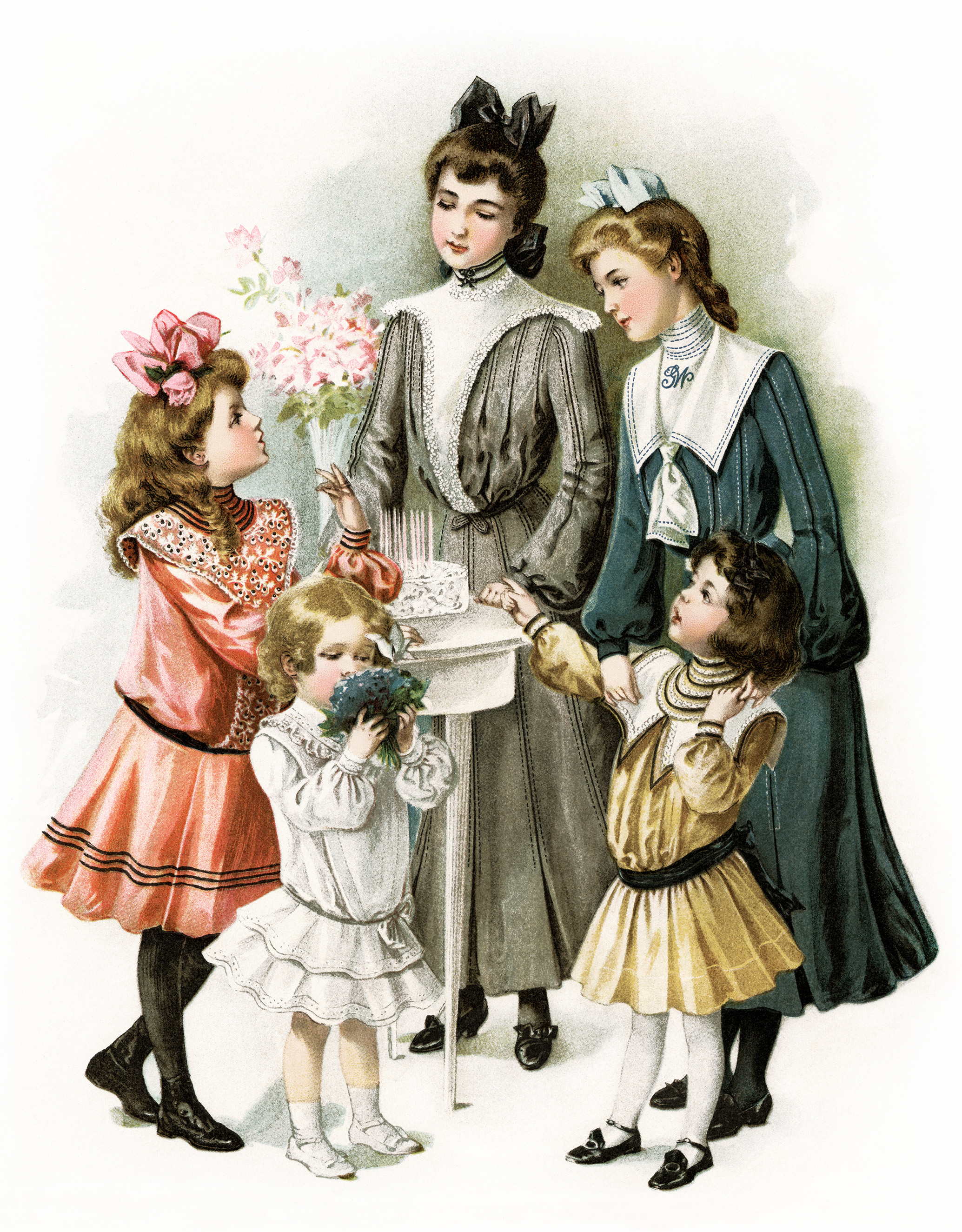 Victorian Tea Party Clipart - Clipart Kid