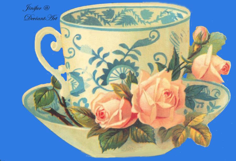 Victorian Tea Party Clipart - Clipart Suggest