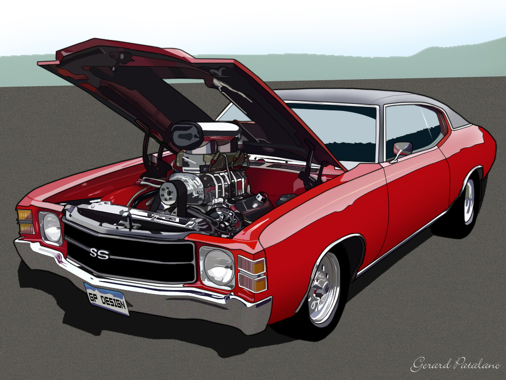 View Full Size   More 25 Amazing Vector Car Illustrations For