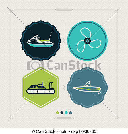 Wakeboard Boat Clipart Propeller Hovercraft Wakeboard Boat