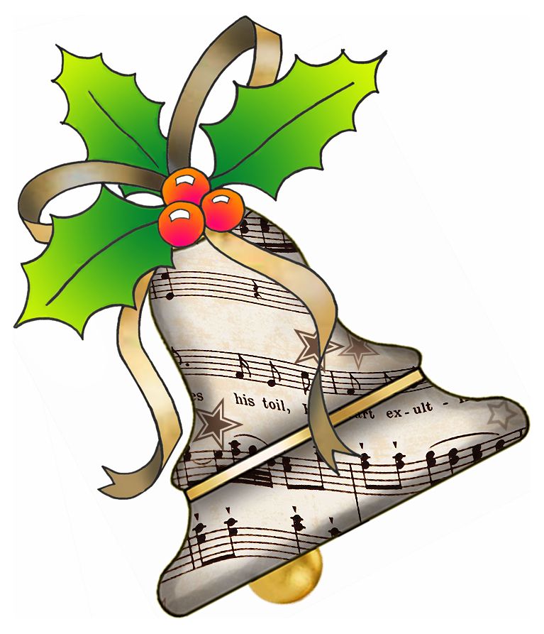 Christmas Music Free Clipart - Clipart Kid