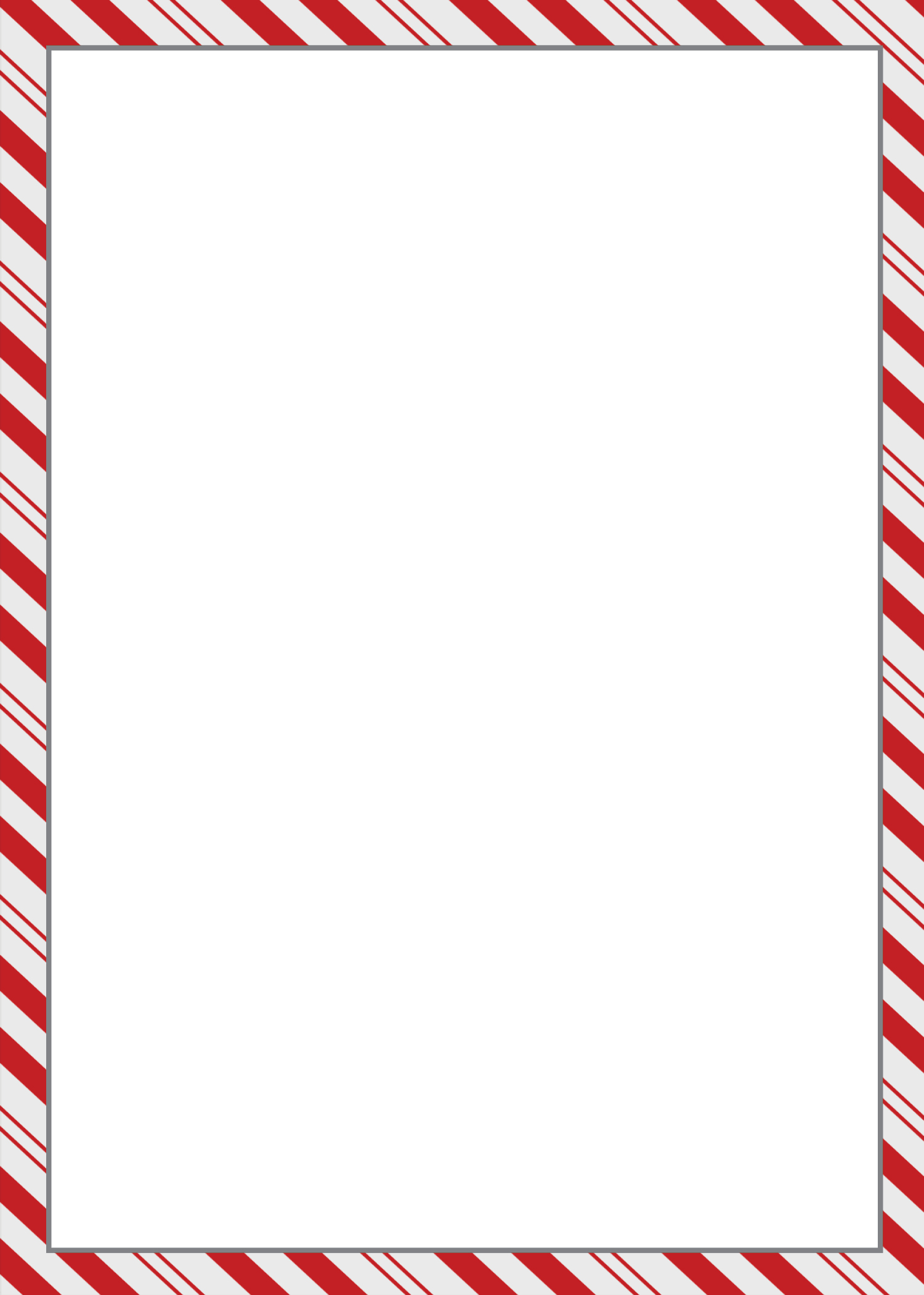 Clip Art Candy Cane Border Clip Art candy cane border clipart kid 5 x 7 flat card