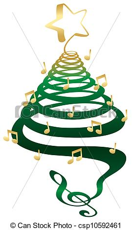 Christmas Tree Music Notes   Clipart Panda   Free Clipart Images