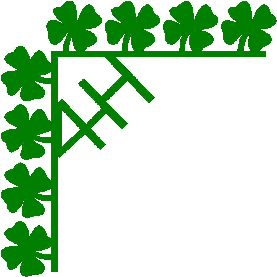 Clip Art 4-h Clover Clip Art 4 h clover clipart kid borders http myplace frontier com stickergirl id12 html