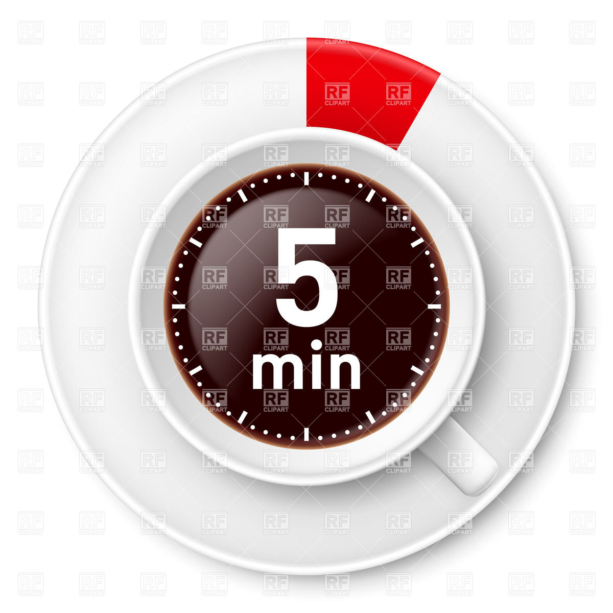 Cup Of Coffee With Time Limit For Break  Five Minutes 30428 Food And