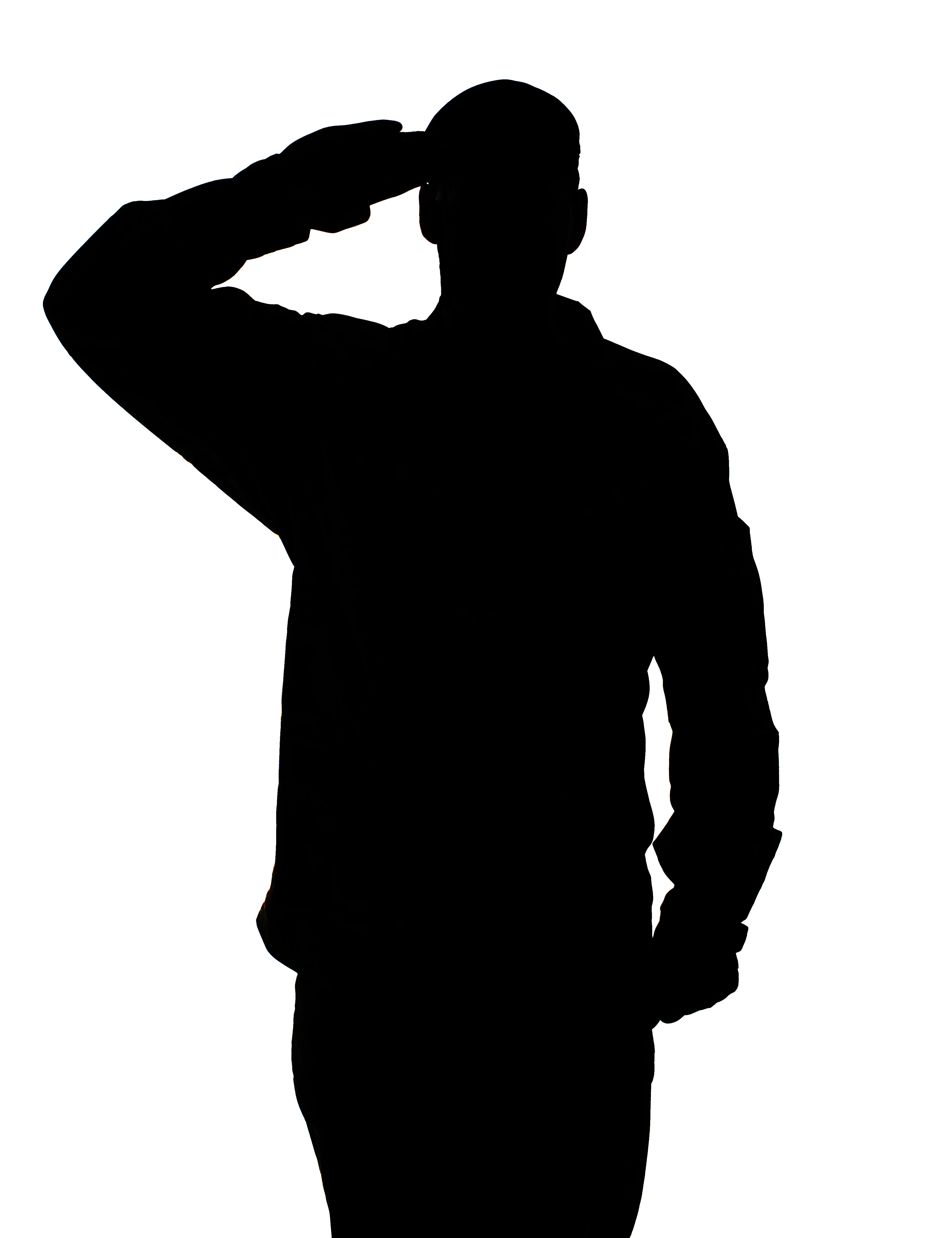 Military Silhouette Clipart - Clipart Kid