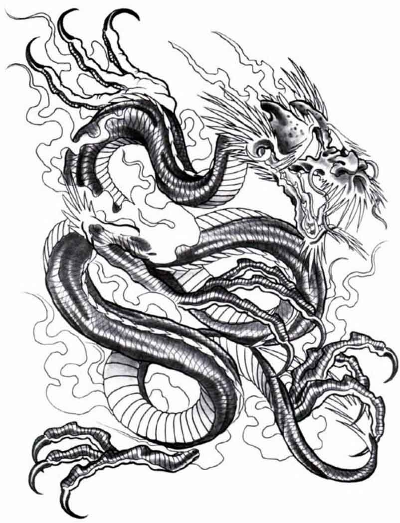 Dragon Tattoo Design   See More Designs On Http   Thebodyisacanvas Com
