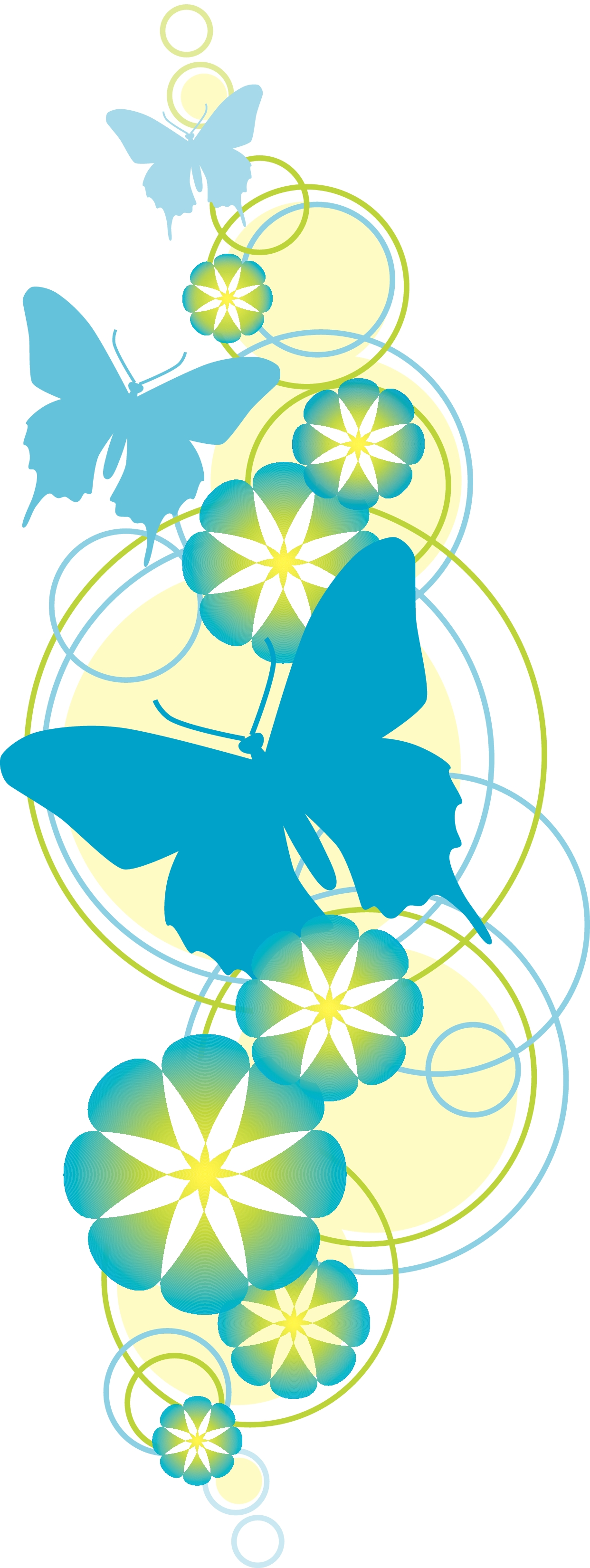 Flower And Butterfly Christian Clipart   Kensington Presbyterian