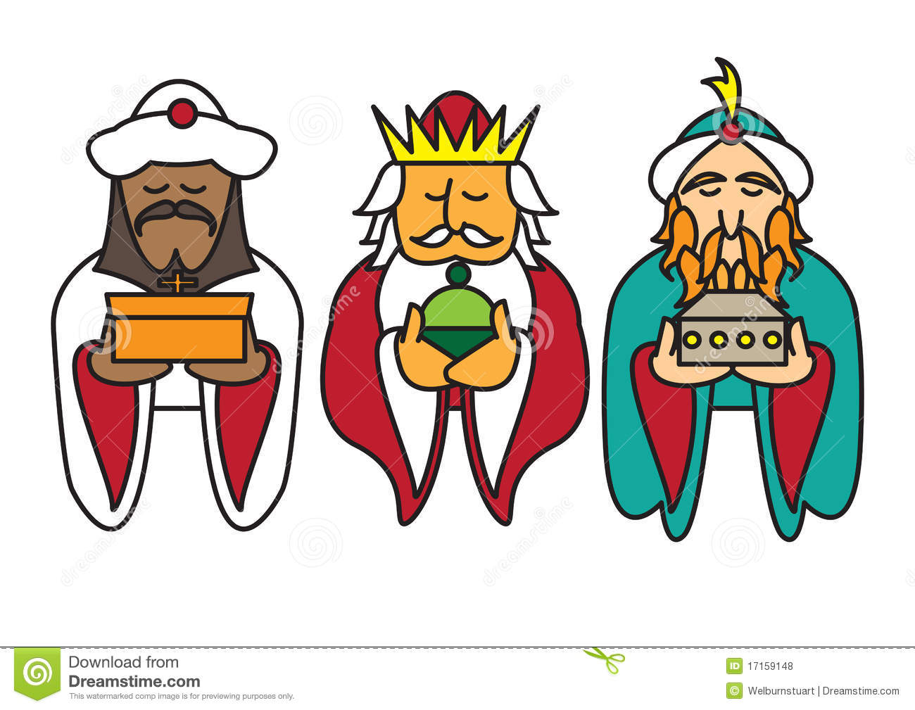 Wise Men Gifts Clipart 3 kings clipart - clipart kid
