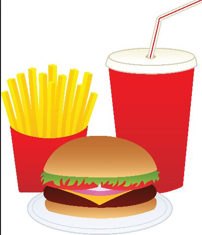 Mcdonalds Clipart Or Two  Fast Food Clipart