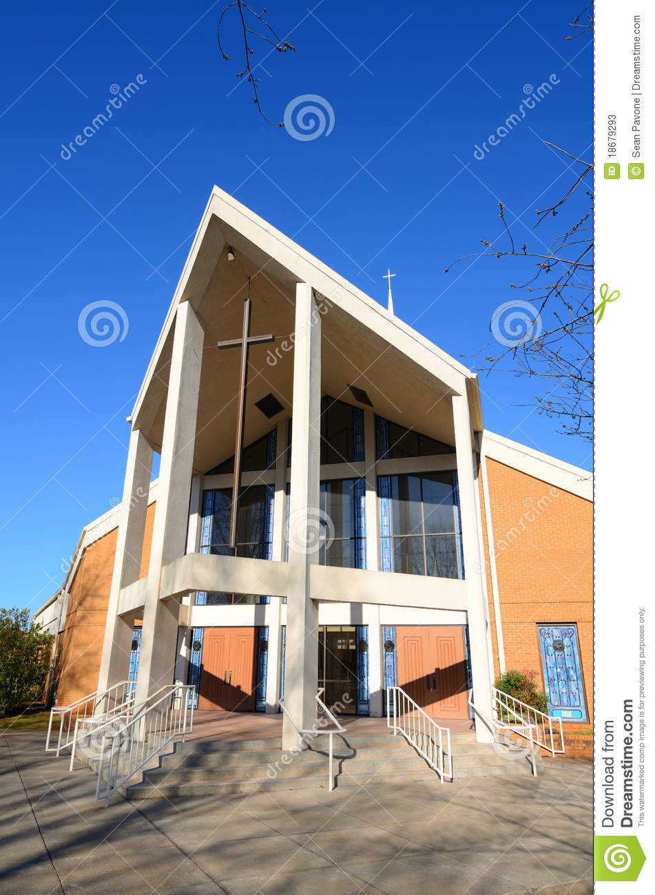 Modern Church Stock Photos   Image  18679293