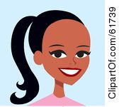 Royalty Free  Rf  Pony Tail Clipart Illustrations Vector Graphics  1