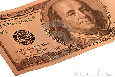 Royalty Free Stock Images   100 Bill