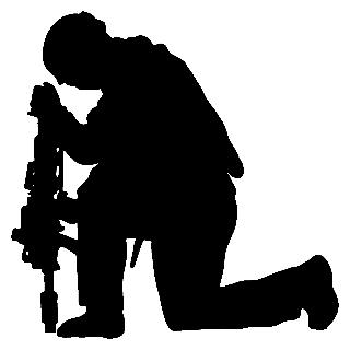 Soldier Silhouette   Clipart Best