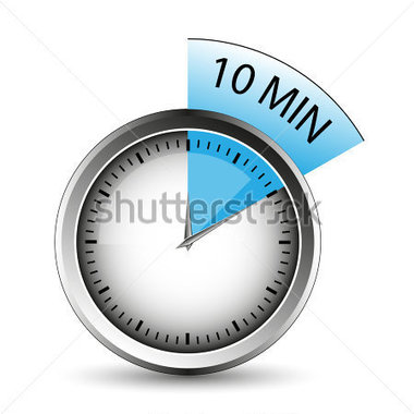 Sports   Recreation   Timer Of 10 Minutes   Vector  Easy To Edit