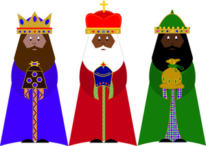 Three Wise Men Clipart Image   The Three Kings Or Wise Men With