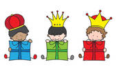 We Three Kings Clip Art Quotes