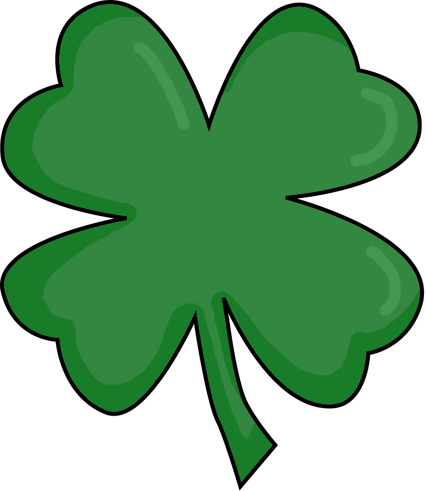 25 Small Four Leaf Clover Free Cliparts That You Can Download To You