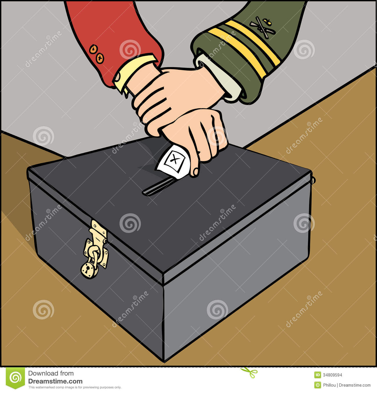 Ballot Rigging Stock Images   Image  34809594