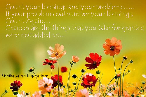 Blessings Quote   Count Your Blessings   Inspirational Pictures