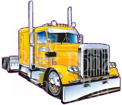 peterbilt 379 truck clipart clipart suggest