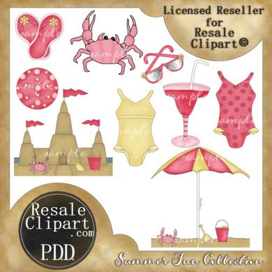 Clip Art Number 152672 Title And Clipart And Download Summer Day Clip