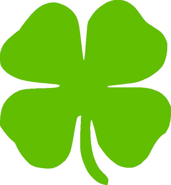 Four Leaf Clover Clip Art Clker Clipart 1wvmha Clipart