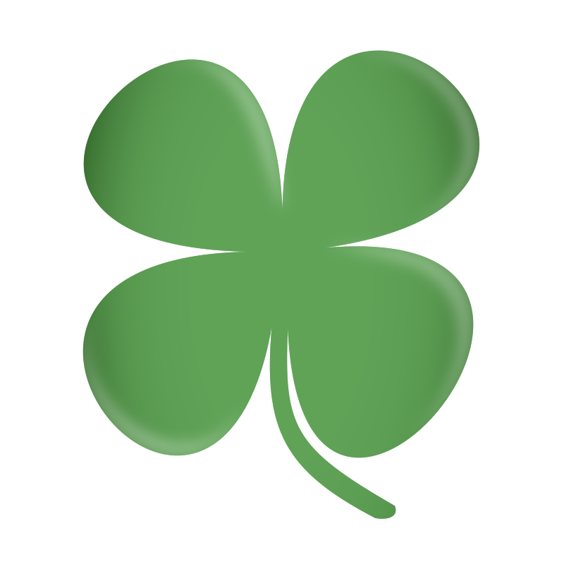 Free Four Leaf Clover Clip Art