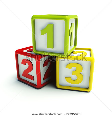 123 Blocks Clipart - Clipart Suggest