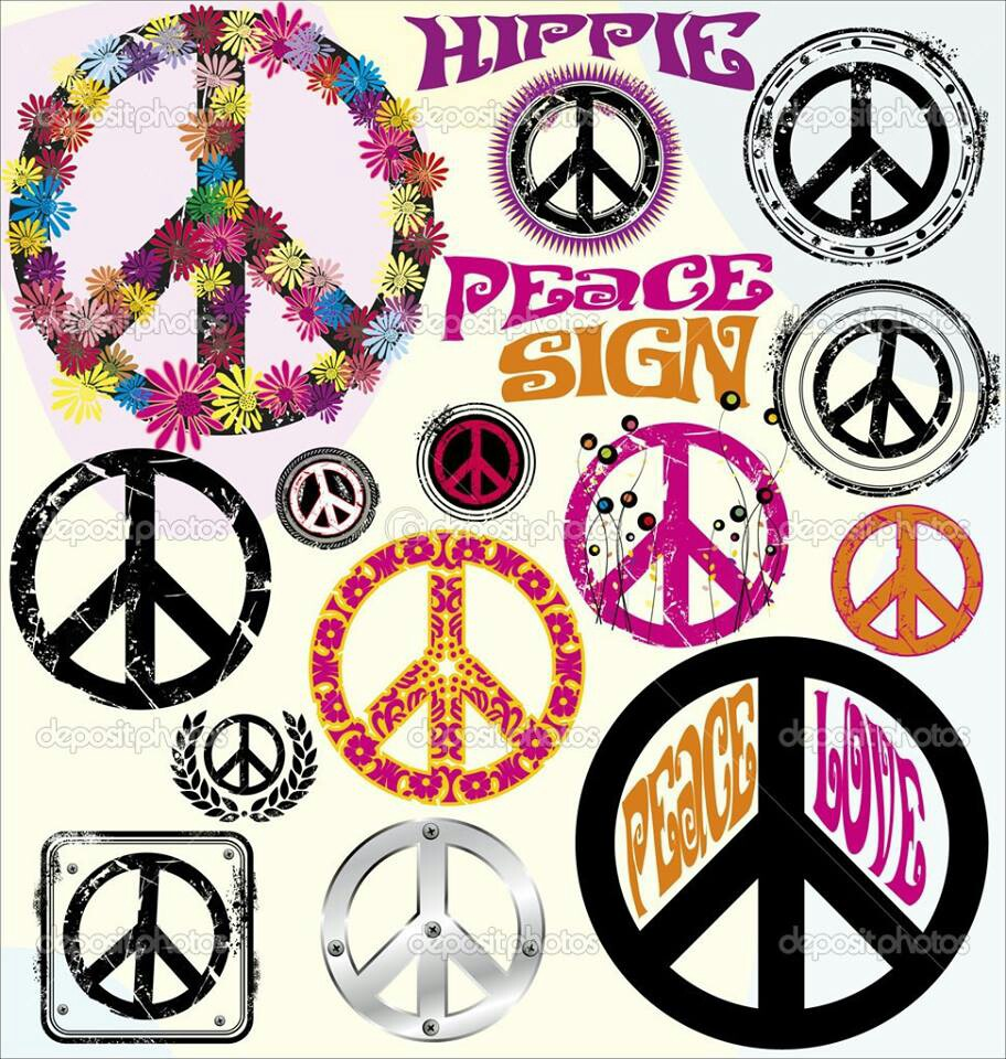 Hippie Peace Signs   All Things Peace   Pinterest
