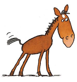 Halter Horse Clipart - Clipart Kid