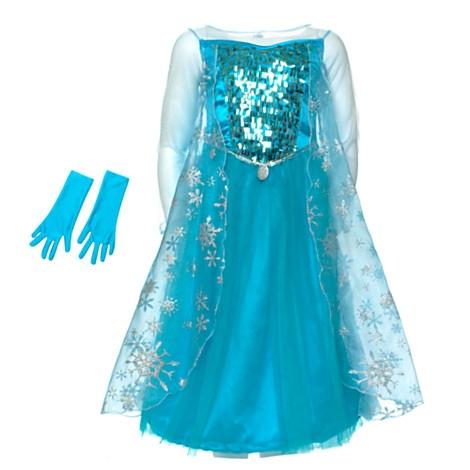 La Robe Bleue D Elsa Frozen La Reine Des Neiges   La Casa Cactus