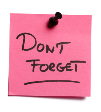 Reminder Note Clipart - Clipart Kid