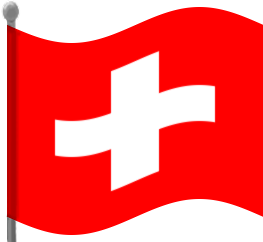 Share Switzerland Flag Waving Clipart With You Friends