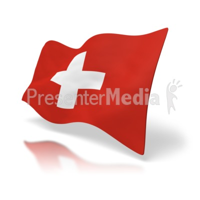 Switzerland Flag   Signs And Symbols   Great Clipart For Presentations