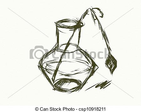 Broken Vase Clipart Stock Illustration Broken